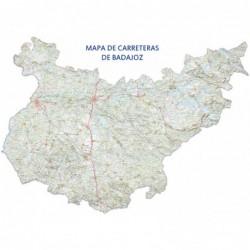 MAPA DE CARRETERAS DE BADAJOZ