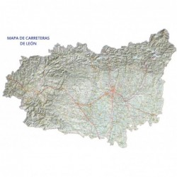 MAPA DE CARRETERAS DE LEÓN