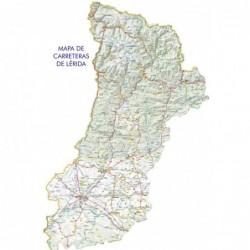 MAPA DE CARRETERAS DE LÉRIDA