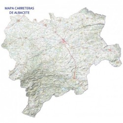 MAPA DE CARRETERAS DE ALBACETE