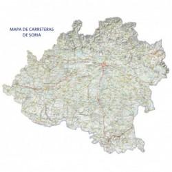 MAPA DE CARRETERAS DE SORIA