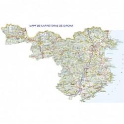 MAPA DE CARRETERAS DE GERONA
