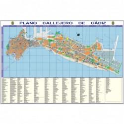 CALLEJERO DE CADIZ - PLANO...