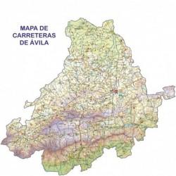 MAPA DE CARRETERAS DE ÁVILA