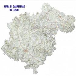 MAPA DE CARRETERAS DE TERUEL