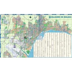 CALLEJERO DE MALAGA - PLANO...