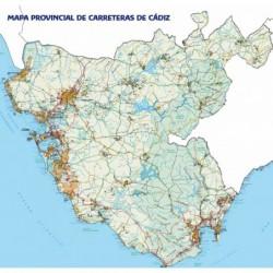MAPA DE CARRETERAS DE CÁDIZ...