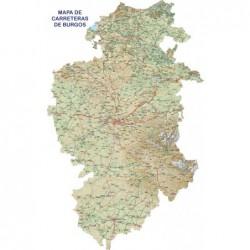 MAPA DE CARRETERAS DE BURGOS