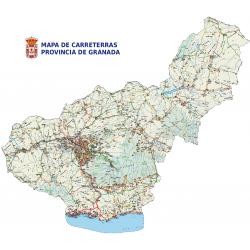 MAPA DE CARRETERAS GRANADA...