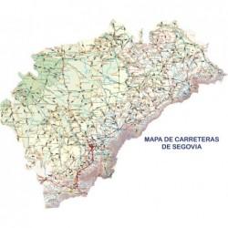 MAPA DE CARRETERAS DE SEGOVIA