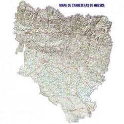 MAPA DE CARRETERAS DE HUESCA